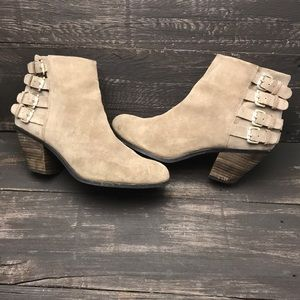 Sam Edelman Suede Lucca Booties Size 8.5M